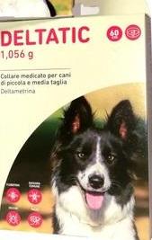 Deltatic - 2 Collari cane antiparassitari. Taglia M