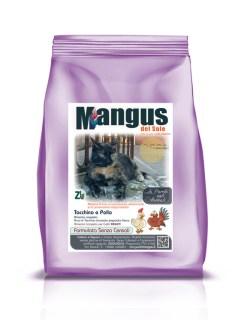 Mangus del Sole - Superfood grain free gatto tacchino e pollo. 300gr