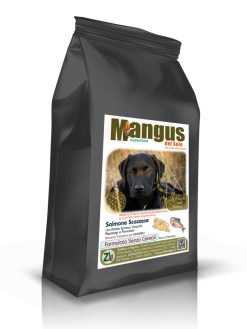 Mangus del Sole - Superfood Dog Puppy Grain Free Salmone Scozzese. 12kg