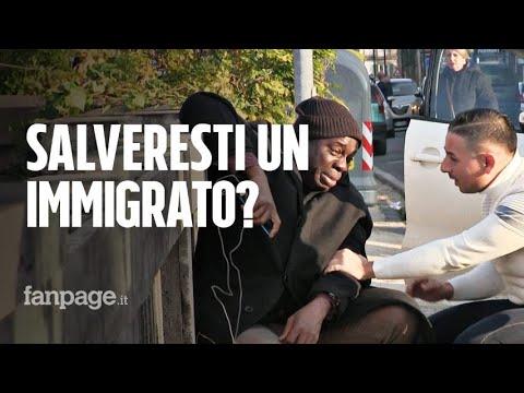 Salveresti la vita a un immigrato?
