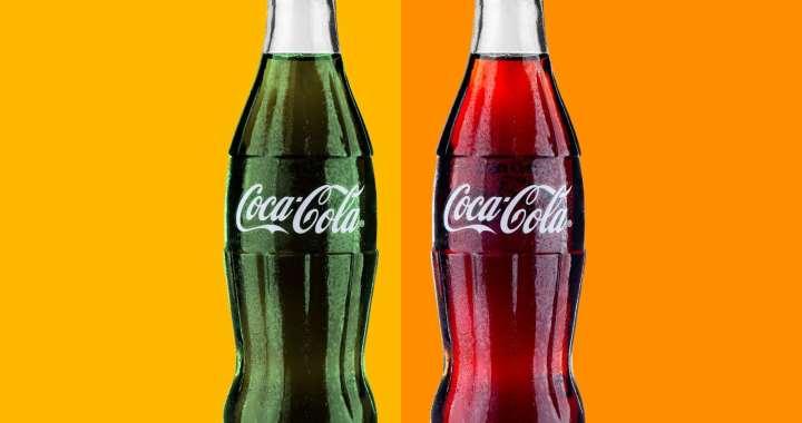 La Coca Cola era Verde !!!