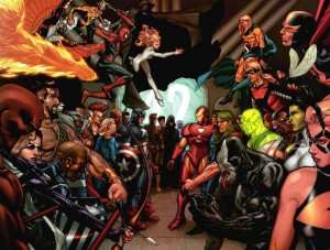Avengers, New Avengers, Young Avengers