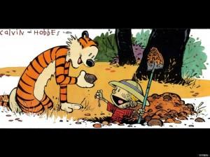 Calvin & Hobbes – Bug Diggers