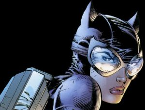 catwoman with backpack