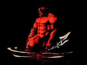 Hellboy Nude
