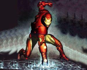 Iron man – punching the ground