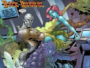 Metamorpho and girl