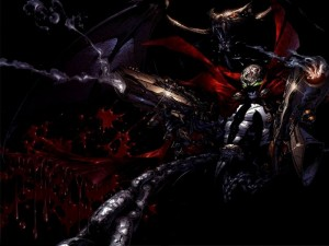Spawn is bloody