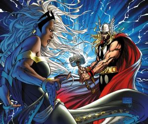 Storm Vs Thor