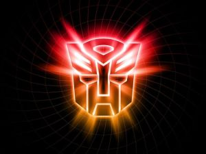 Transformers Logo Spiral