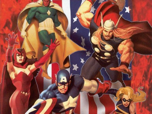 Avengers are Patriotic