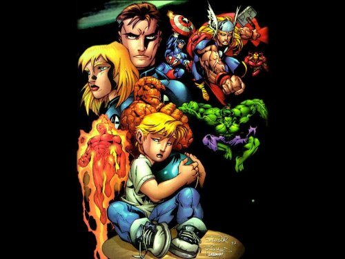 Avengers – Fantastic Four – Franklin Richards