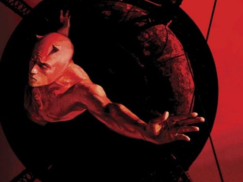 Daredevil – painted in red black