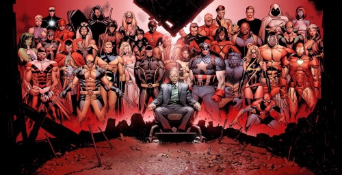 House Of M 01 Cover Art by Olivier Coipel