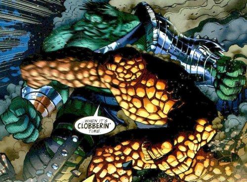 hulk vs thing – clobberin time