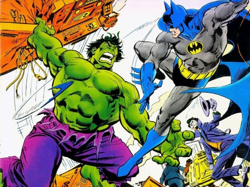 Incredible Hulk Vs Batman With joker