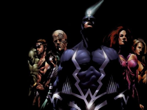 Inhumans In Shadow