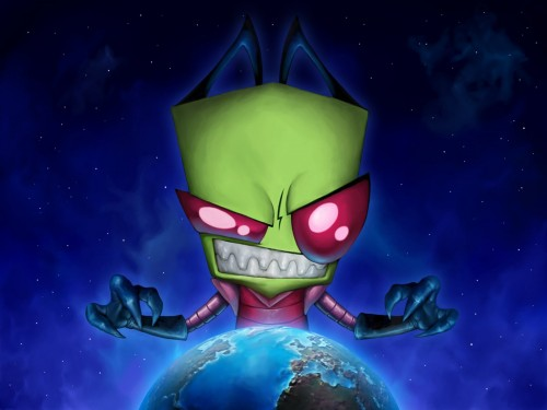 invader zim vs earth