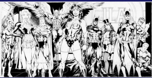 JLA – Black and White