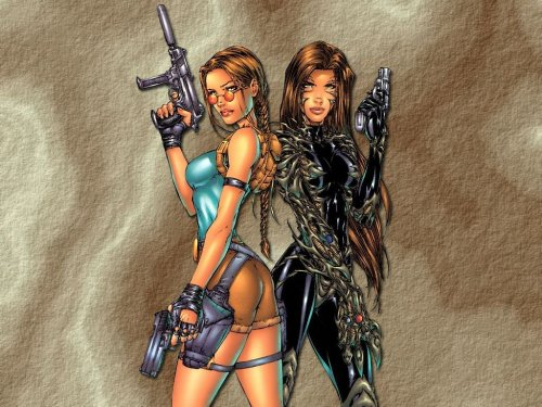 Lara Croft – Tomb Raider with Witchblade