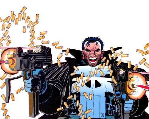 Punisher War Zone 01 Cover