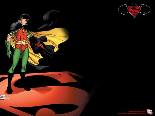 Robin Misses Superboy