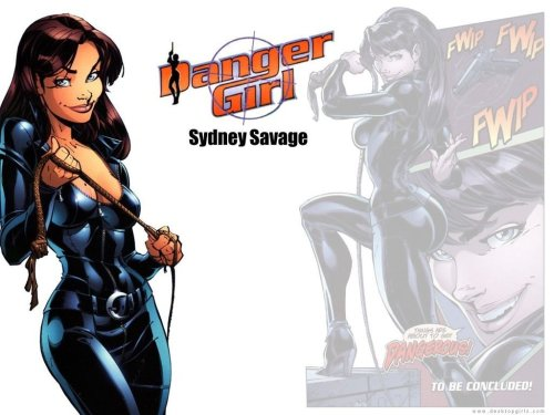 Sydney Savage – From Danger Girl