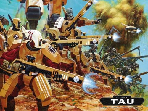 Tau fighters