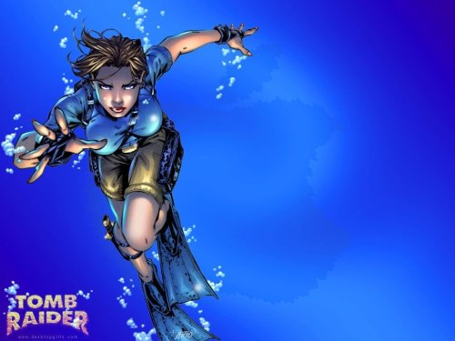Tomb Raider Under Water