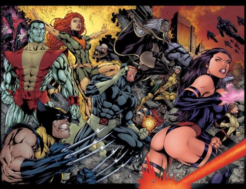 X-men_(by_Ed_Benes)_1