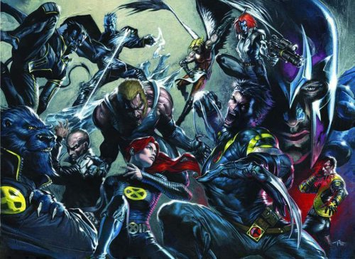 X-Men (by Gabriele Dell'Otto)
