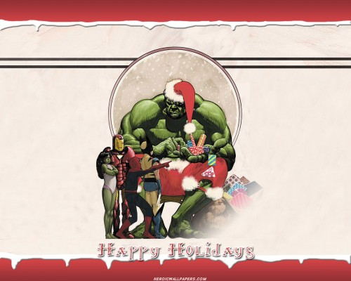 Incredible Hulk – Happy Holidays