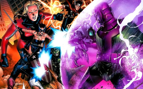 New Avengers Vs Kang