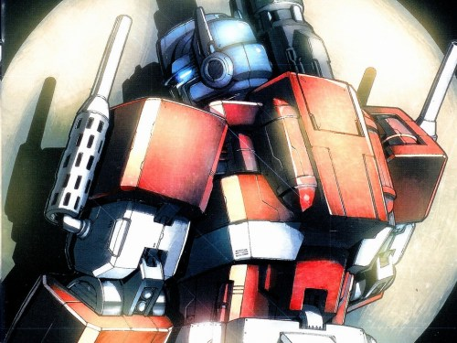 Optimus Prime – Back