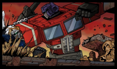 Optimus Prime Beats On Robots