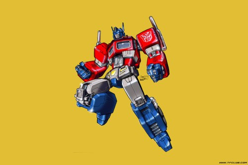 Optimus Prime – Yellow