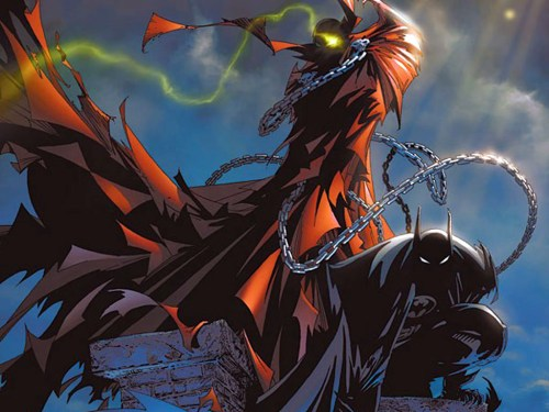 Spawn and Batman