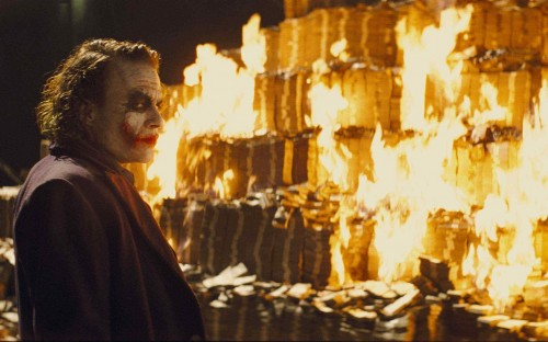 The Dark Knight – Joker's Money