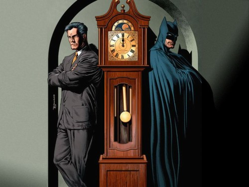 batman and bruce wayen