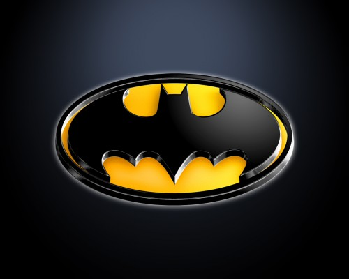 batman logo shiney