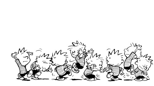 calvin dances