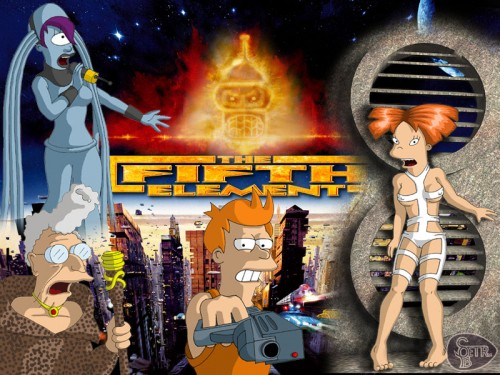 futurama 5th element