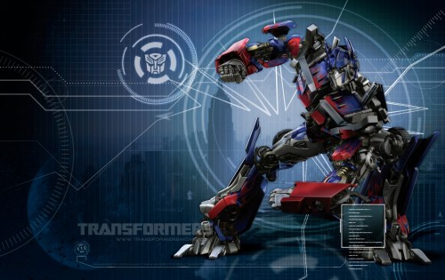 goofy looking optimus prime