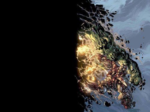 incredible hulk vs iron man