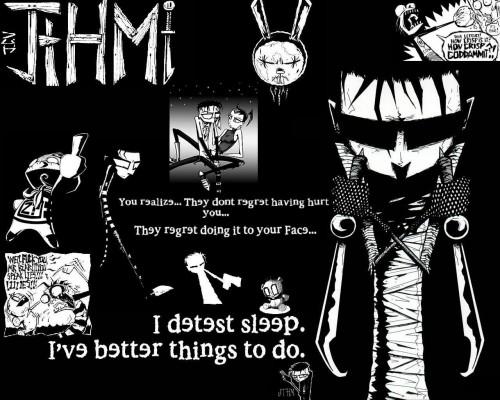 johnny the homicidal maniac – i detest sleep