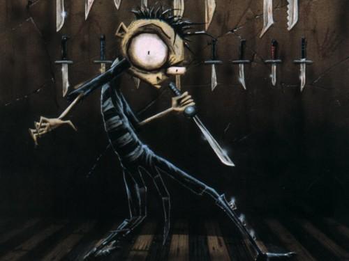 johnny the homicidal maniac – knives