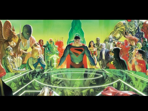 ross – the justice league