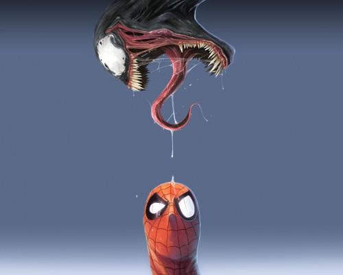 spider-man – venom drip