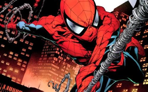 spider-man – web shot