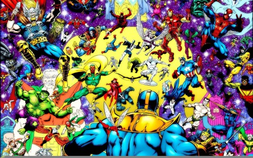 thanos vs marvel